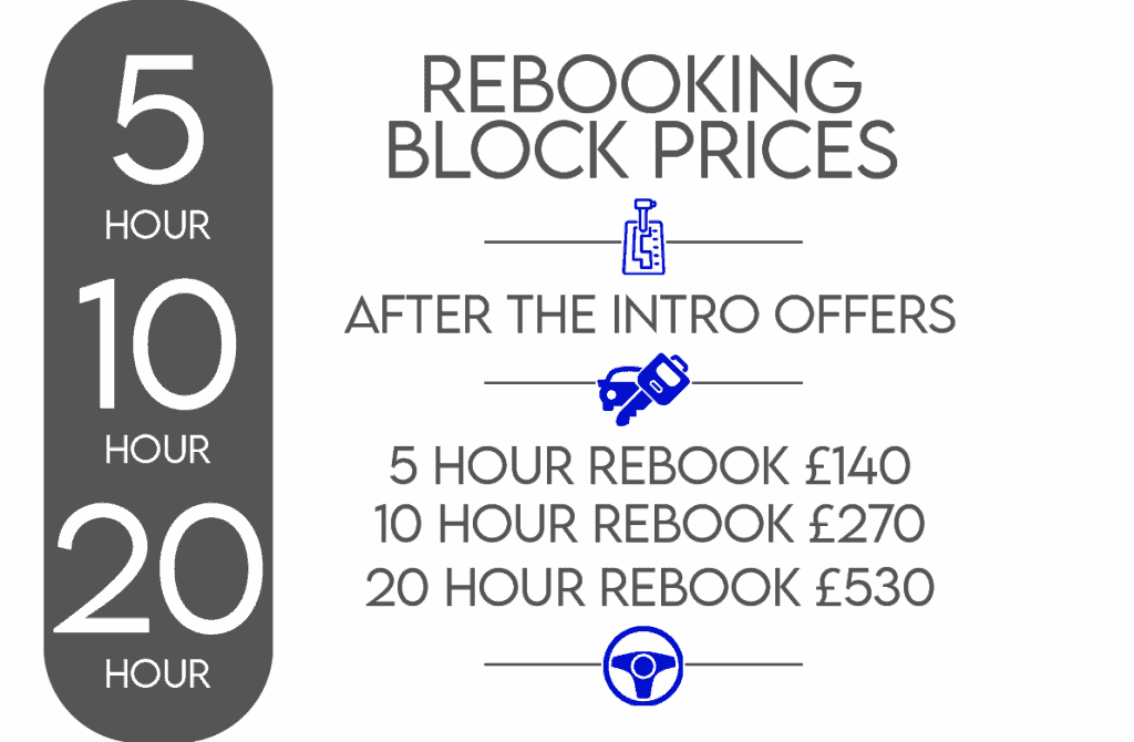 REBOOKING LESSON PRICES